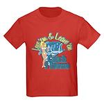 Love 'em & Leave 'em Kids Dark T-Shirt