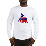 Cute Political Long Sleeve T-Shirt
