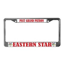 Past Grand Patron License Plate Frame