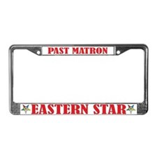 Past Matron License Plate Frame
