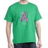 Epilepsy Butterfly Ribbon T-Shirt