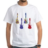 4 Electric Guitars 1 Shirt