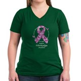 Fibromyalgia Butterfly Ribbon Shirt