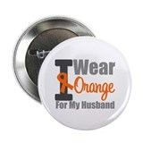 "I Wear Orange (Husband) 2.25"" Button (10 pack)"