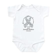 JD Butterfly Ribbon Infant Bodysuit