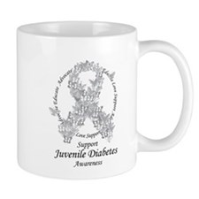 JD Butterfly Ribbon Mug