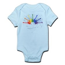 Guitar Rainbow Infant Bodysuit