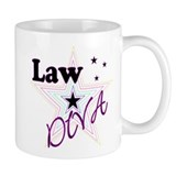 Law Diva (Star) Small Mug
