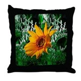 Sunflower Pic Throw Pillow