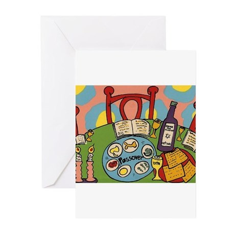 Seder Table Greeting Cards (Pk of 20)