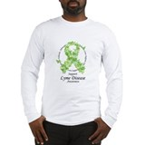 Lyme Disease Butterfly Ribbon Long Sleeve T-Shirt