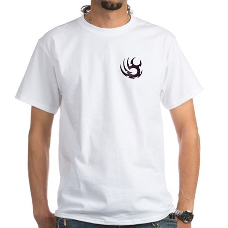 Tribal Pocket Talons White T-Shirt