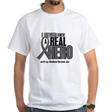 Never Knew A Hero 2 Grey (Husband) Shirt