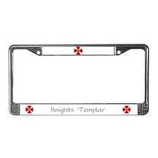 Knights Templar License Plate Frame