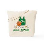 Future All Star Basketball Tote Bag
