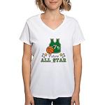 Future All Star Basketball Women's V-Neck T-Shirt