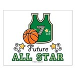 Future All Star Basketball Small Poster