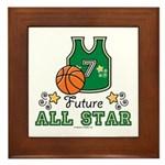 Future All Star Basketball Framed Tile