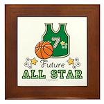Future All Star Basketball Framed Tile
