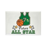 Future All Star Basketball Rectangle Magnet (100 p
