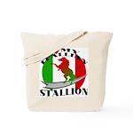 I Love My Italian Stallion Tote Bag