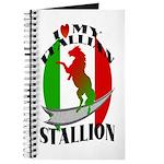 I Love My Italian Stallion Journal