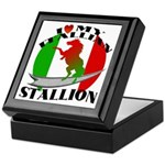 I Love My Italian Stallion Keepsake Box