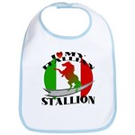 I Love My Italian Stallion Bib