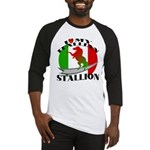 I Love My Italian Stallion Baseball Jersey
