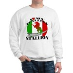 I Love My Italian Stallion Sweatshirt