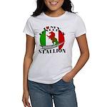 I Love My Italian Stallion Women's T-Shirt