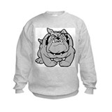 Cute Bulldog cartoon Sweatshirt