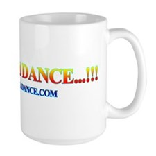 SHUT UP AND DANCE LARGE MUG