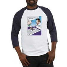 Science Rats in Maze Baseball Jersey
