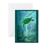 Rainforest Turtle Greeting Cards (Pk of 10)