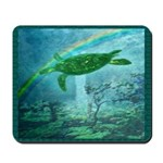 Rainforest Turtle Mousepad