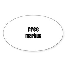Free Markus Oval Decal