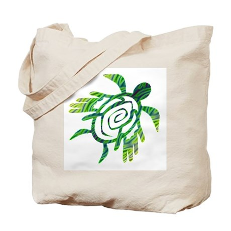Winged Turtle Tote Bag