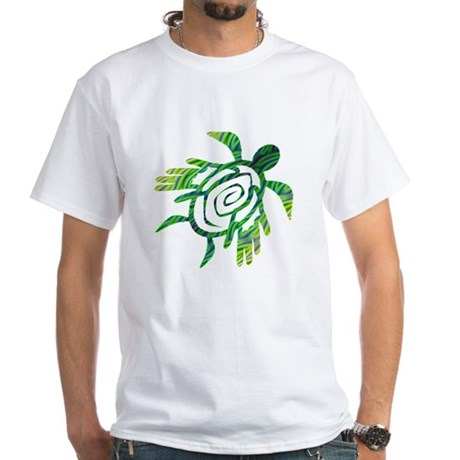 Winged Turtle White T-Shirt