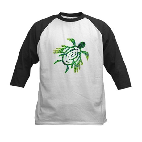 Winged Turtle Kids Baseball Jersey
