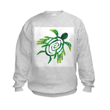 Winged Turtle Kids Sweatshirt