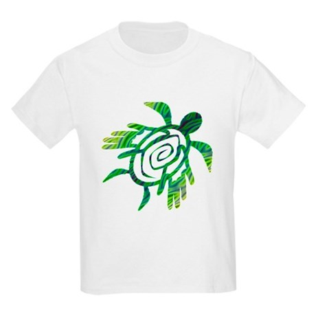 Winged Turtle Kids Light T-Shirt