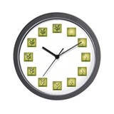 Fangorn Ranks Wall Clock