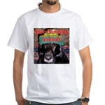 Save Homeless Animals White T-Shirt