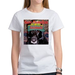 Save Homeless Animals Women's T-Shirt
