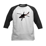 Black Helicopter Disguise Kids Shirt