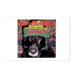 Save Homeless Animals Postcards (Package of 8)