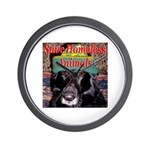 Save Homeless Animals Wall Clock