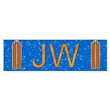Masonic Junior Warden Bumper Car Sticker