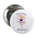 "Future Ballerina (Blonde) 2.25"" Button"